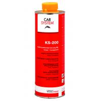 126062 KS-200 Восковое антикоррозионное средство для скрытых полостей, коричнево-прозрачный 1л CarSy