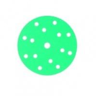 145089 Абразивный круг GREENLINE GRIP 150 mm 15 отв P150 CarSystem