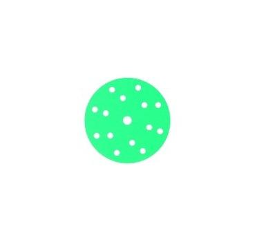 145098 Абразивный круг GREENLINE GRIP 150 mm 15 отв P600 CarSystem