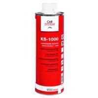 149264 KS-1000 Антигравийное покрытие окрашиваемое серое 1л CarSystem