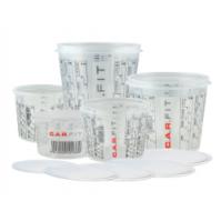 Емкость пластиковая для смешивания красок 1400 мл CarFit