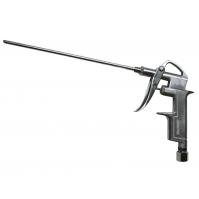 Пистолет продувочный со средним соплом 80 мм, алюминиевый корпус, рабочее давл. 0-10 бар, макс.давл.