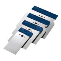 Набор гибких металлических шпателей 50-80-100-120 мм CarFit