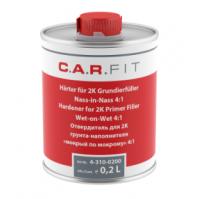 """Отвердитель для грунта-наполнителя """"мокрый + мокрому"""" 0,2 л, CarFit"""