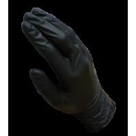 Перчатки нитриловые черные размер XL CarFit