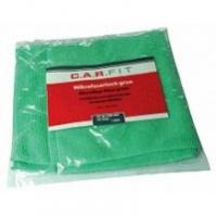 Салфетка полировальная из микрофибры (зеленая), 400х400 мм, 1шт CarFit