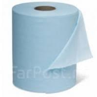Салфетки полировальные нетканные, белые в рулоне 400 шт CarFit