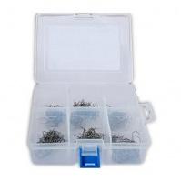 Набор из 6-ти видов нерж. скоб в пласт. кейсе для HOT Stapler; 150 шт. ;0.6 мм . ;0.8 мм RHD