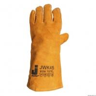 Защитные перчатки (краги) от высоких температур. Цвет оранжевый. Размер 10/XL. JETA