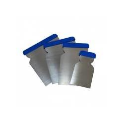 Kiwix Шпатели металлические NEW,набор 4шт (50,80,100,120мм)