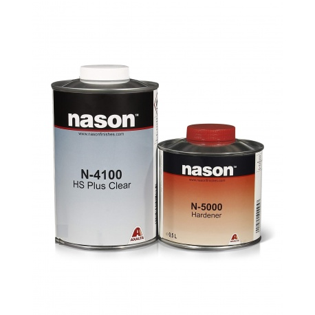 N-4100 лак W1LT HS PLUS CLEAR 1 л. NASON