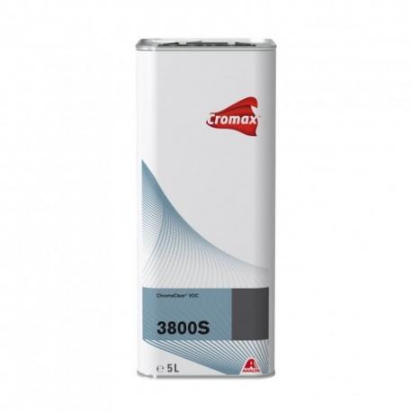 3800S Лак VOC Chromaclear 2K 5 л - 3 шт + XK205 Активатор стандартный LE 5л