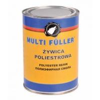 П/э смола с отв. POLYEST. RESIN светло-желтый 1кг+40гр MULTIFULLER