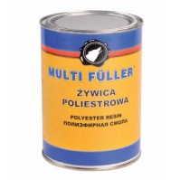 П/э смола с отв. POLYEST. RESIN светло-желтый 5кг+200гр MULTIFULLER