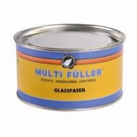 Шпатлевка п/э со стекловолокном GLASS зеленый 1 кг MULTIFULLER