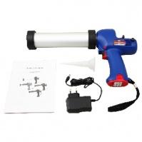 Аккумуляторный пистолет для герметиков IGUN для 310мл и туб 400мл, 300 кгс, 6,9 мм/сек, длина 380 мм