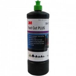 50417 (TUR) Полировальная паста Fast Cut Plus 1 литр 3М (зеленый колпачок)