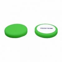 Полировальный круг из поролона D 150 mm T 30 мм среднежесткий зеленый Profi Green ISISTEM