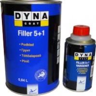 Грунт Dynacoat Filler 5 + 1 серый + отв. 0,2 (компл.)