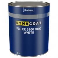 Грунт HS PRO Filler 6100 DUO Белый 3 л Dyna