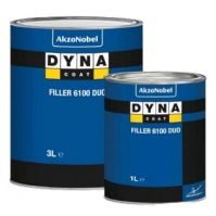 Грунт HS PRO Filler 6100 DUO Серый 1 л Dyna