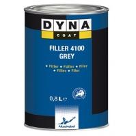 Грунт-Вырав. Filler 4100 Серый 0,8 л Dyna