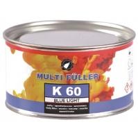 Шпатлевка полиэфирная K60  BLUE LIGHT 1,3кг голубая 1,3кг MULTIFULLER