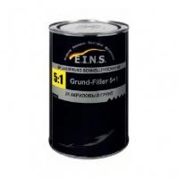 EINS 2К Акриловый грунт 5+1 HS с отвердителем    0,8л.+ 0,16л. серый