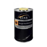 EINS AV  2К Разбавитель универсальный для акриловых материалов   1л.