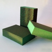 Комбинированный шлифовальный блок 98х69х26мм, 4-х сторонний_P180 SUNMIGHT