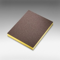 7983 siasponge soft  губка двусторон 98*120*13мм, fine, P500, желтая