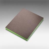 7983 siasponge soft  губка двусторон 98*120*13мм, superfine, P600, зеленая