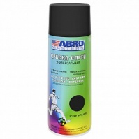 ABRO Краска Термостойкая ЧЕРНАЯ (SP-202) спрей 0,4л