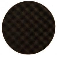Рельефный поролоновый полировальный диск 85мм, чёрный Mirka