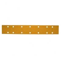 Шлиф мат на бум основе липучка GOLD 70x420мм 14 отв Р80 Mirka