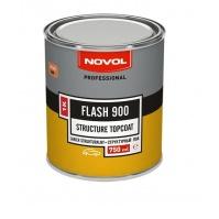 FLASH 900 структурный лак 1К-черный 0,75л NOVOL