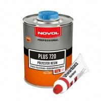 PLUS 720 Полиэфирная смола 1 кг + отвердитель 50гр NOVOL