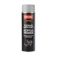 SPRAY ACRYL PRIMER Акриловый грунт 0,5л серый  NOVOL