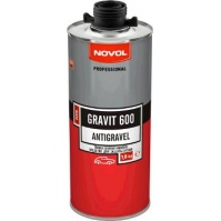 SPRAY ANTIGRAVEL MS Антигравий 0,5л черный  NOVOL