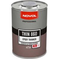 THIN 860 Разбавитель для эпоксидного грунта 1,0л NOVOL