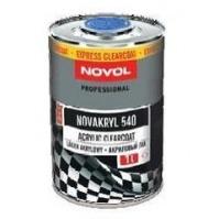 """Бесцветный лак """"NOVAKRYL""""  540 2+1 EXPRESS 1,0л NEW NOVOL"""