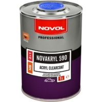 "Бесцветный лак ""NOVAKRYL"" HS 590 2+1 5,0л NOVOL"