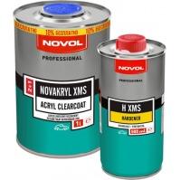 Бесцветный лак NOVAKRYL XMS 1,0л NOVOL