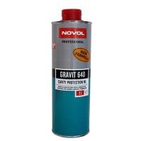 Препарат для защиты закрытых профилей кузова ML GRAVIT 640 1л NOVOL