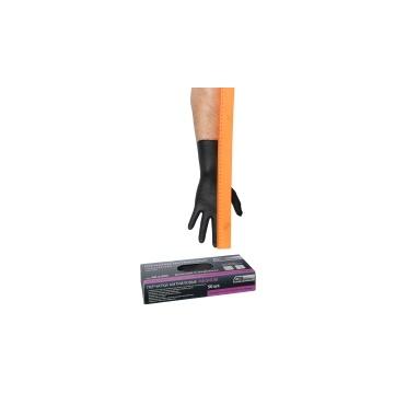 Перчатки нитриловые черные Магнум, 300 мм, толщина-0,21 мм, 50шт. Размеры L коробка-диспенсер AB