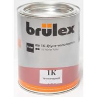 1K-Грунт-наполнитель  (темно-серый) Brulex 6 x 1 ltr