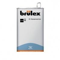 2К-HS-Прозрачный лак Премиум 5л Brulex