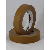 Малярный скотч бежевый (80 гр) 19мм х 50м Brulex 48