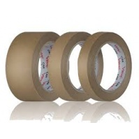 Малярный скотч коричневый (60 гр) 19мм х 50м Brulex 48