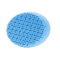 "Полиров.круг Brulex на липучке ""Square"", голубой, 150x25мм Brulex 1"